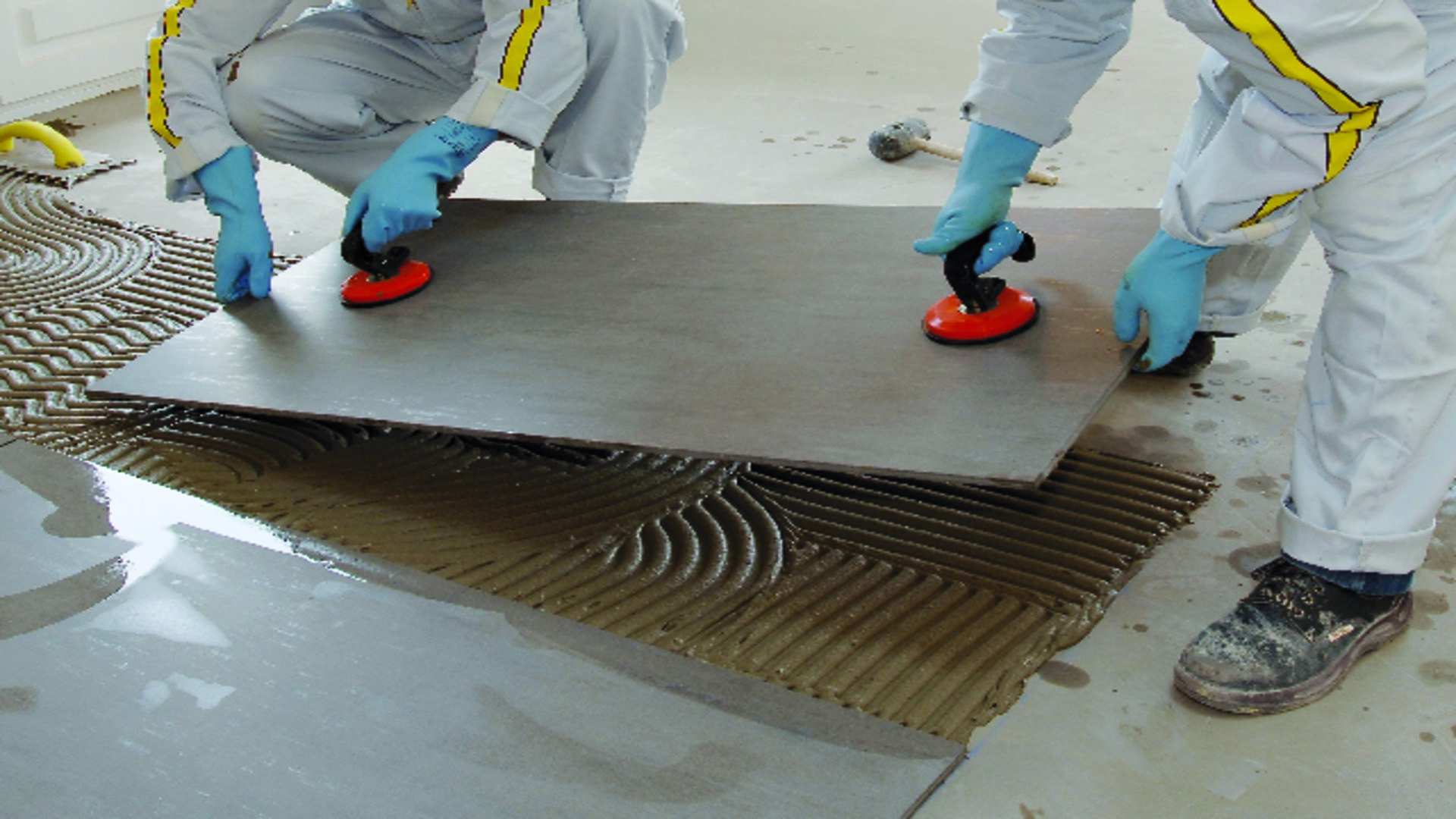 Tiling With Tile Adhesives
